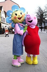 Fifi and Peppa Pig