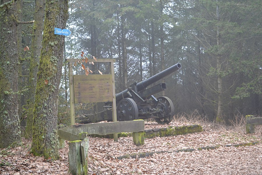 Fild - Howitzer - Canon Lourd / Boulaide / Luxembourg -2012