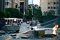 Filming a disaster scene at Wilshire and Hope in Los Angeles, California 09.jpg