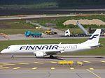 Finnair Embraer 190 OH-LKI at HEL 05JUN2015.JPG
