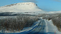Finnish national road 21 & Saana, Ala-Kilpisjärvi -tele.JPG