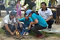 Fire-making - Survival Programme - Summer Camp - Nisana Foundation - Sibpur BE College Model High School - Howrah 2013-06-09 9693.JPG