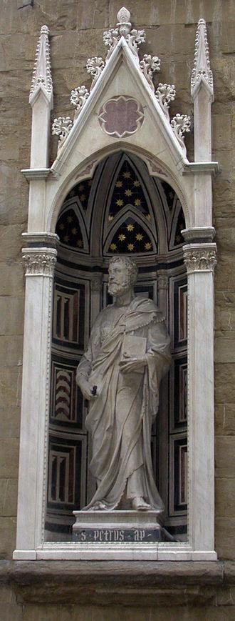 Saint Peter (Brunellesci) - External replica