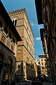 Firenze - Florence - Via de' Lamberti - View East on the Church of Orsanmichele.jpg