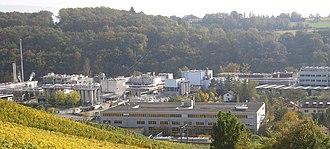 Dardagny - Firmenich plant in La Plaine