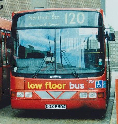 File First Centrewest Bus Llw4 Odz 8904 1993 Dennis