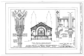 First Reformed Church, North Pearl and Orange Streets, Albany, Albany County, NY HABS NY,1-ALB,11- (sheet 6 of 8).png