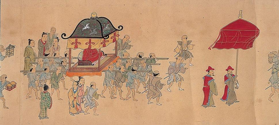 First Ryukyan mission to Edo
