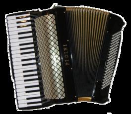 120-bas Pigini pianoklavieraccordeon