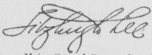 Fitzhugh Lee - Image: Fitzhugh Lee (signature)