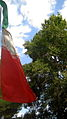 Flag of Iran in the Nishapur Railway Station square 29.JPG