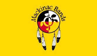 Mackinac Bands of Chippewa and Ottawa Indians - Mackinac Bands Flag