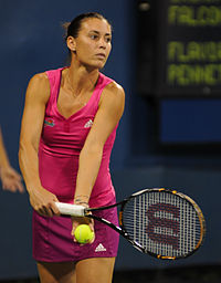 Flavia Pennetta at the 2010 US Open 01