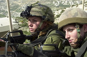 "Operation Defensive Shield - Israeli paratroopers serving in Nablus as part of Operation ""Defensive Shield"""