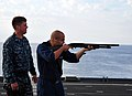 Flickr - Official U.S. Navy Imagery - A Sailor fires a 12-gauge shotgun..jpg