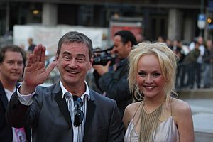 Anna Bergendahl - Christer Björkman and Anna Bergendahl in Oslo on 23 May 2010