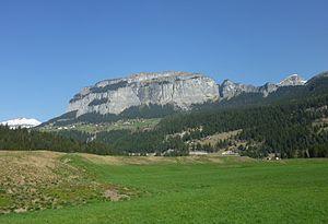 Klettersteig Flimserstein : Flimserstein u wikipedia