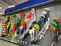 Floorball sticks in store 20170514.jpg