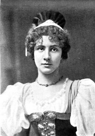 Florence Perry - As Lisa in The Grand Duke, Act I