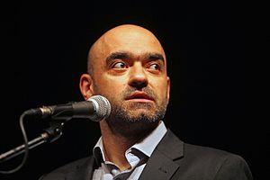 Florin Șerban - Florin Șerban at the Karlovy Vary International Film Festival in July 2015