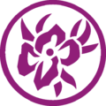 Flower in Ring Ornament Purple L.png