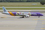 Flybe (Kids & Teens Livery), G-FBEM, Embraer ERJ-195LR (27845587593).jpg