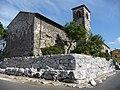 Fondamenta del tempio di Giunone Moneta su cui è costruita la chiesa di S.Pietro - panoramio.jpg