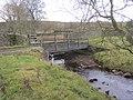 Footbridge over Hunder Beck in Baldersdale (geograph 3230752).jpg