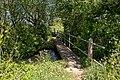 Footbridges over Bickerley Millstream - geograph.org.uk - 1942340.jpg