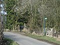 Footpath alongside site of Lilbourne Station - geograph.org.uk - 1737695.jpg