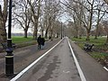 Footpath and cycle lane, Hyde Park - geograph.org.uk - 1019802.jpg