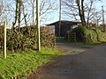 Footpath and entrance to Kilkhampton AFC ground - geograph.org.uk - 641299.jpg