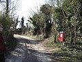 Footpath by the bin - geograph.org.uk - 1769144.jpg