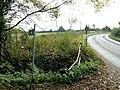 Footpath entrance north of South Marston, Swindon - geograph.org.uk - 593155.jpg