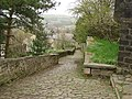 Footpath from Mottram Parish Church to Church Brow - geograph.org.uk - 777268.jpg