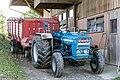 Ford 3055 Traktor mit Pöttinger Ladewagen.jpg