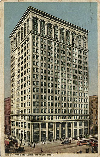 Ford Building (Detroit) - Ford Building, circa 1900s