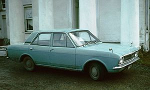 Ford Cortina Mk II in profile