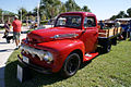 Ford F-3 1952 Pickup LSideFront Lake Mirror Cassic 16Oct2010 (14690720867).jpg