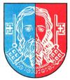 Coat of arms of the city of Neustadt-Glewe 1973-1995