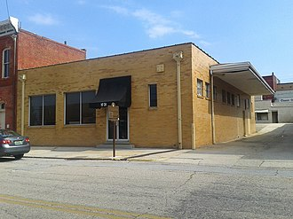 Freedom Riders National Monument - The former Greyhound station in October 2017