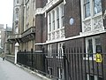Former home of a famous cleric in Gordon Square - geograph.org.uk - 1106305.jpg