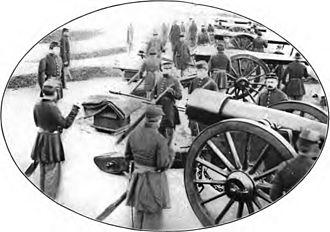 Fort Lyon (Virginia) - Gun Crews at Fort Lyon, Virginia