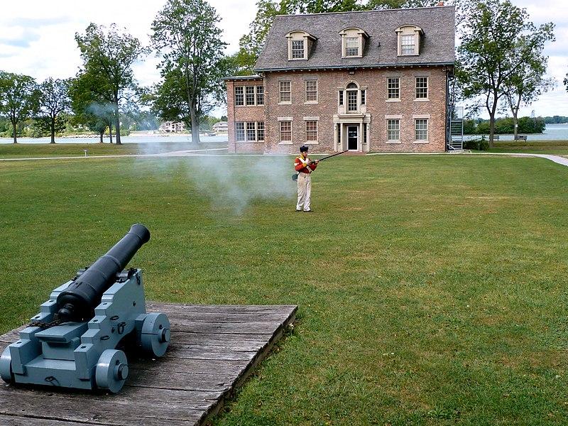 1838 : Patriot War Along Detroit River Begins