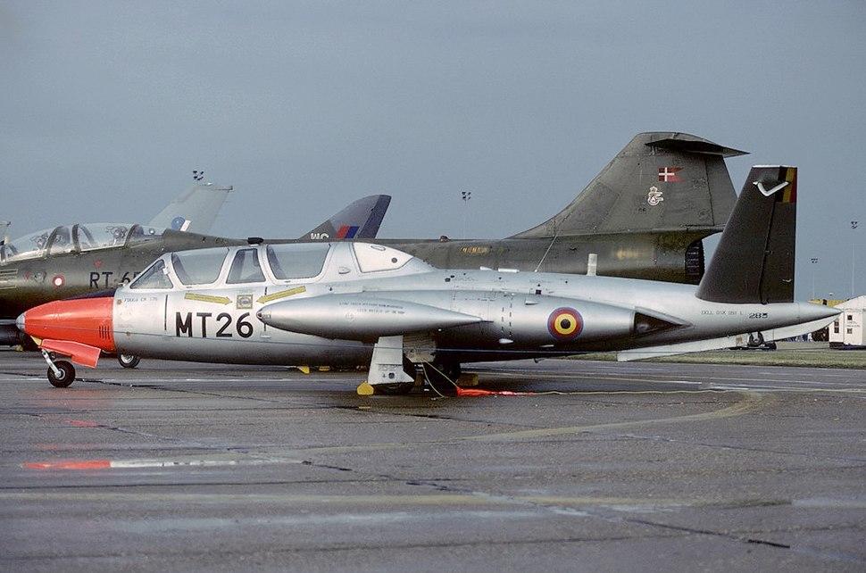 Fouga CM-170R Magister, Belgium - Air Force AN1845848