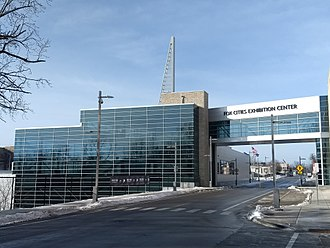 Fox Cities Exhibition Center - Center just after opening
