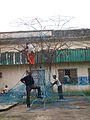 Frédéric Keiff, L'Arbre à Palabres - preparatory work 63.jpg