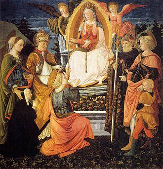 Girdle of Thomas - Filippo Lippi, Madonna della Cintola, 1455–65, Prato