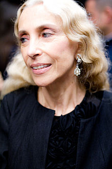 Franca Sozzani - the  journalist, writer,   with Italian roots in 2019