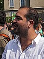 Francesc Fort at Wikimania 2016 closing ceremony.jpg